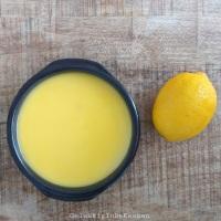Gebakken yoghurt met lemoncurd